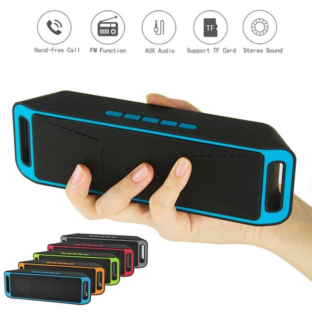 SC208, altavoz inalámbrico Bluetooth, ordenador, Mini altavoz Dual, portátil, pequeño estéreo, Subwoofer para coche, compatible con Bluetooth, superventas