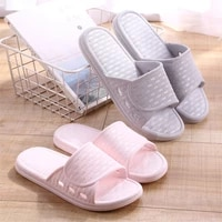 womens slippers summer indoor thick soled lovers mens slippers bath bathroom soft soled household sandals and slippers