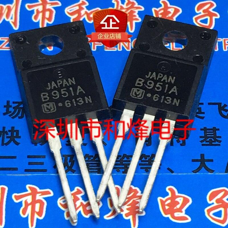 Original 10pcs/ 2SB951A B951A TO-220F -60V -7A