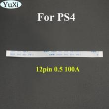 YuXi 2 pièces pour PS4 Pro contrôleur 12Pin Port de charge câble ruban flexible câble plat câble flexible ruban dalimentation interne