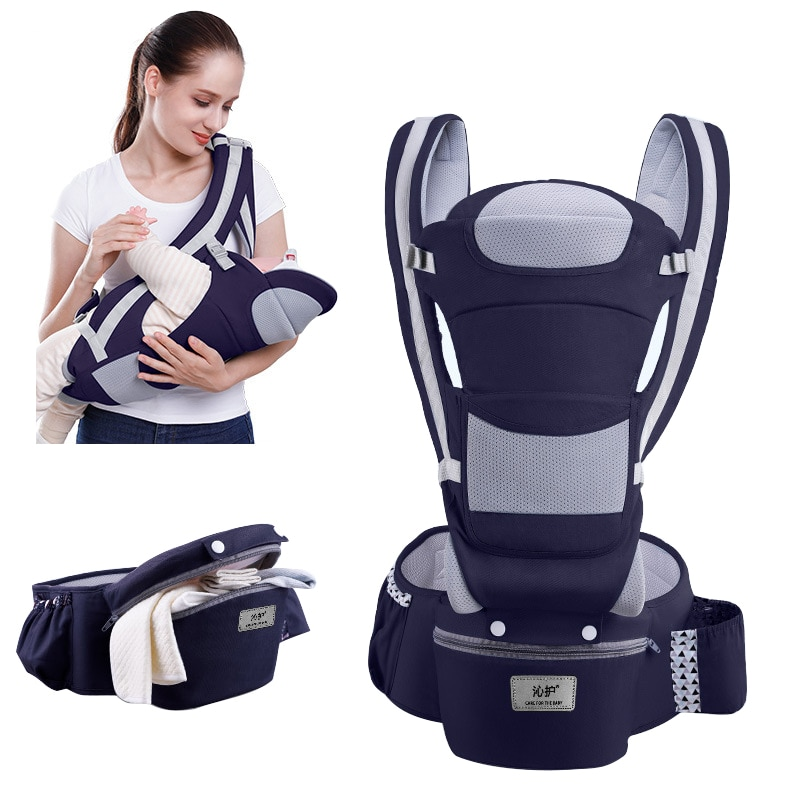 Ergonomic Baby Carrier Backpack Infant Baby Hipseat Carrier Front Facing Ergonomic Kangaroo Baby Wrap Sling Travel backpack