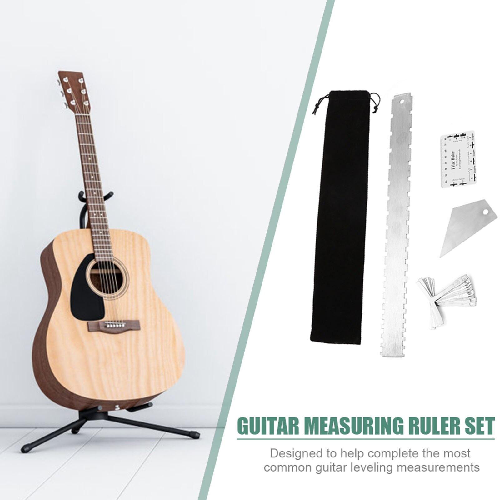 1Set Professional Guitar Luthier Tools Understring  Gauge Guitar