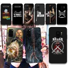 HPCHCJHM Negan My Dirty Girl TPU Soft Silicone Phone Case Cover for Samsung S20 plus Ultra S6 S7 edg