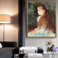 the young girl elaine by pierre auguste renoir hd portrait arts reproduction canvas print painting poster wall decor %d0%ba%d0%b0%d1%80%d1%82%d0%b8%d0%bd%d1%8b