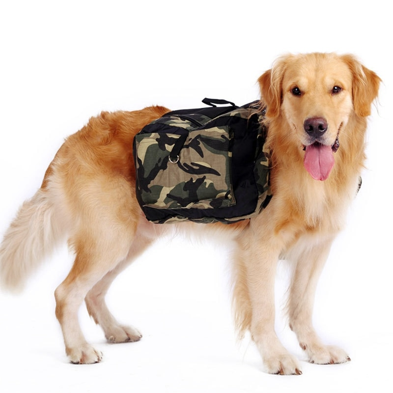 Mochila para perro, mochila de viaje, Camping, senderismo, mochila, mochila con gran capacidad