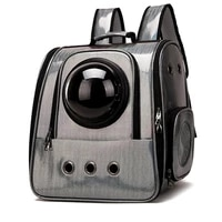 breathable space capsule pet cat carrier backpack transparent dog carrying travel bag outdoor for small dogs cats pet supplies