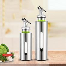 Home Kitchen Leak-Proof Oil Sauce Vinegar Storage Container Dispenser Bottle