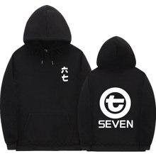 Anime Scissor Seven Hoodies Swag Print Funny Streetwear pullover Sweatshirt Men Fashion autumn winte