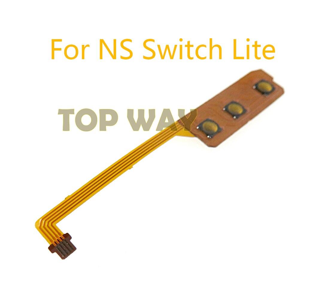 50 قطعة لجهاز nintendo Switch Lite ، زر تشغيل/إيقاف تشغيل ، كابل مرن ، وحدة تحكم ألعاب NS Lite