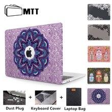 Mtt Laptop Bag Case Voor Macbook Air Pro Retina 11 12 13 15 16 Touch Bar Hard Cover 13.3 ''15.4'' Funda A1706 A1502 A2159 A1932