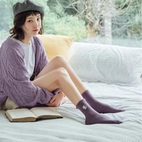 socks female mid tube lace bubble mouth embroidery flowers korean girl socks breathable 2021 original new