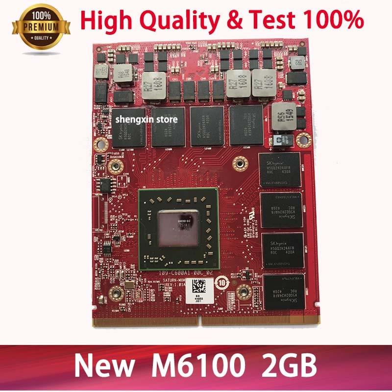 جديد CN-0K5WCN 0K5WCN M6100 بطاقة جرافيكس 216-0843006 2GB DDR5 109-C600A1-00C لأجهزة الكمبيوتر المحمول ديل M6600 M6800 M15X M17X R3 HP 876W