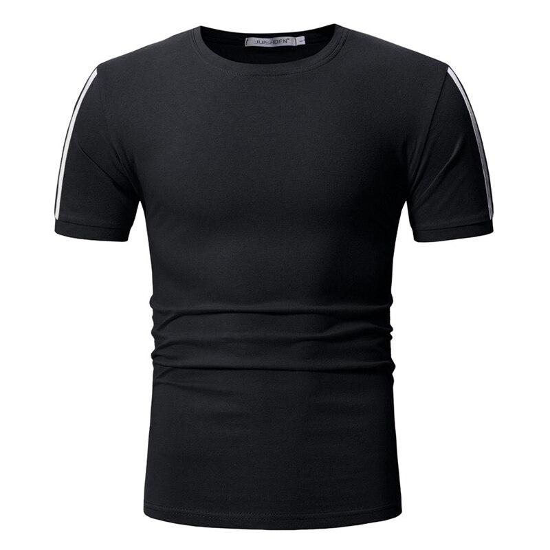 Männer sommer baumwolle kurzarm t hemd Fitness bodybuilding T-shirts Neue t tops Mode lässige kleidung Drucken