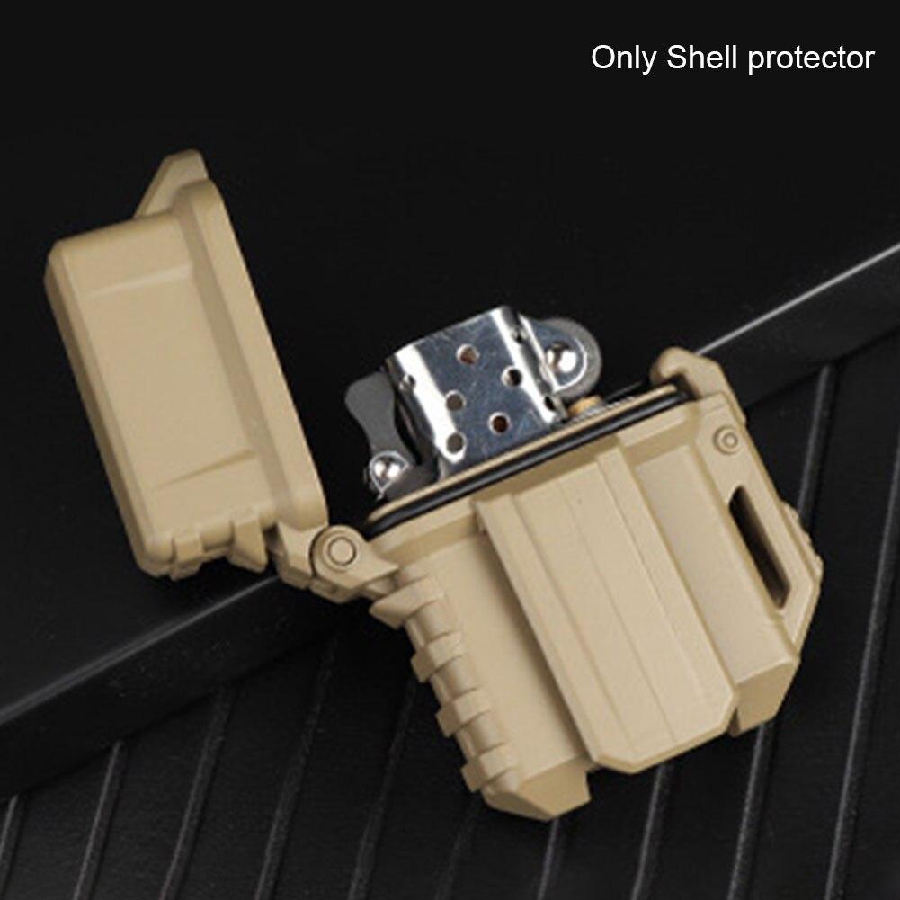 Universal Tactical Outdoor Kerosin Schutzhülle Leichter Fall Shock Proof Praktische Durable Geschenk Zubehör Für Zippo