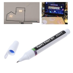 Conductive Electronic DIY Circuit Repair Draw Instantly Magical Ink Pen Tool
