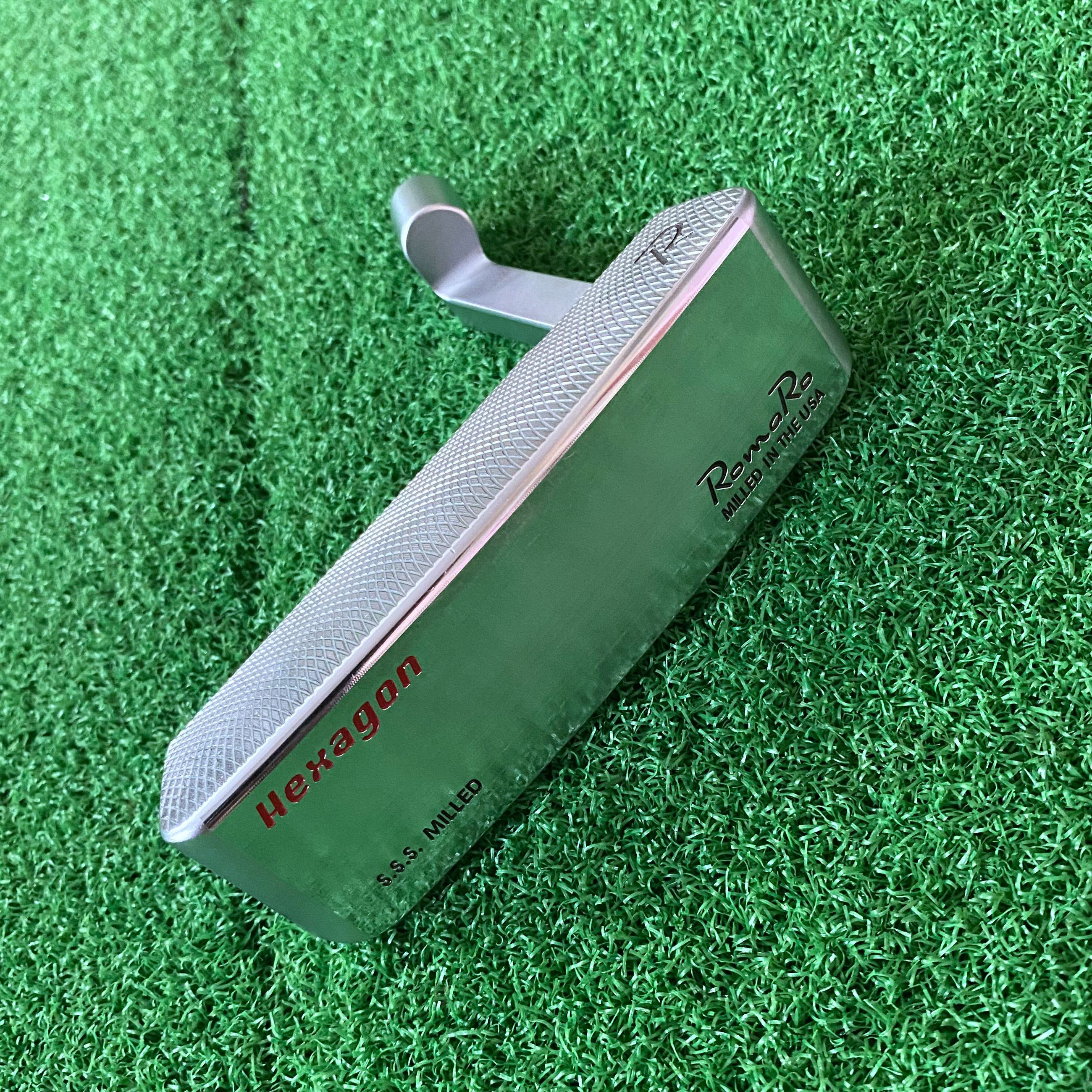 Golf Clubs Putter Head Only Men Soft Iron Forged No Shaft Free Shipping RomaRo hexagon