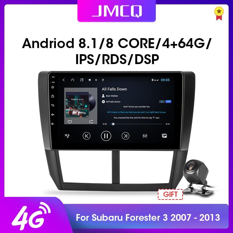 JMCQ Android 8,1 Auto Radio für Subaru Forester 3 SH 2007-2013 Auto DVD Multimedia Video Player DSP Navigation GPS 2 Din Audio