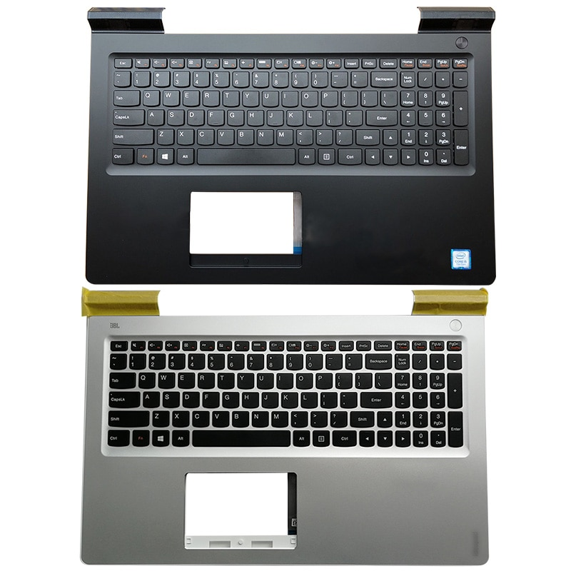 Original NEW Laptop Palmrest Upper Case US Keyboard For Lenovo IdeaPad 700 700-15 700-15ISK 5CB0L03480 5CB0N86629