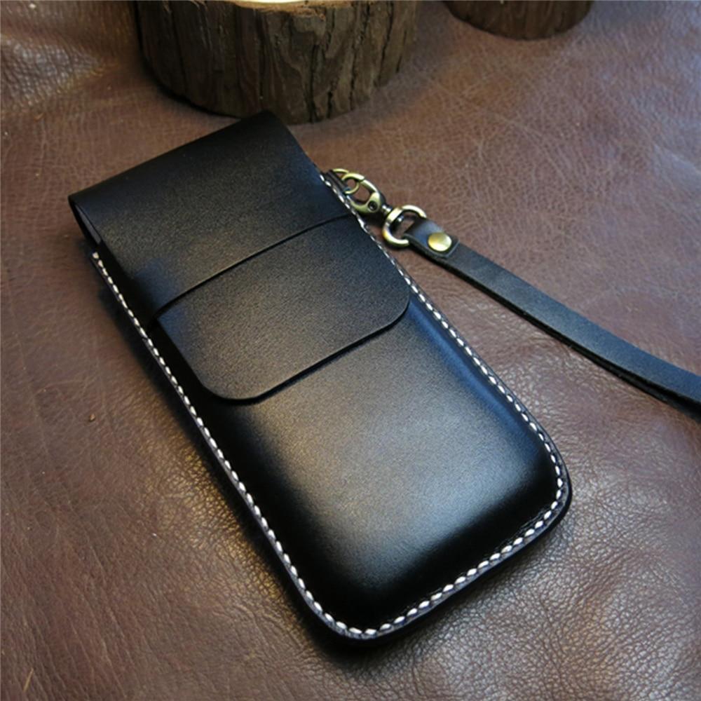 saco de telefone protetor de couro telefone a prova de choque capa completa bolsa
