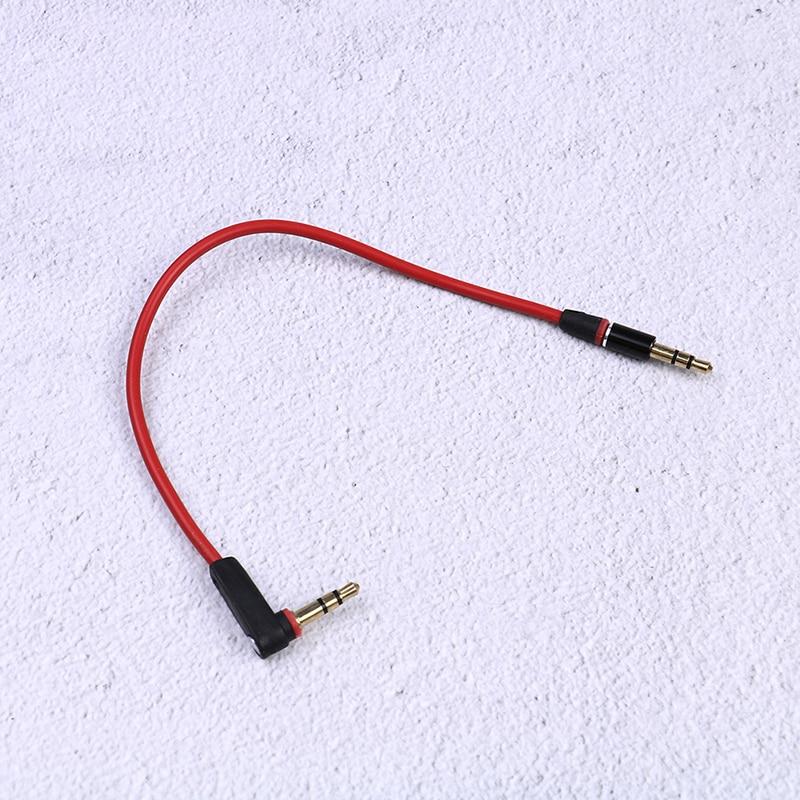 3.5mm curto 20cm jack para jack aux cabo macho para cabo de áudio estéreo masculino cabos