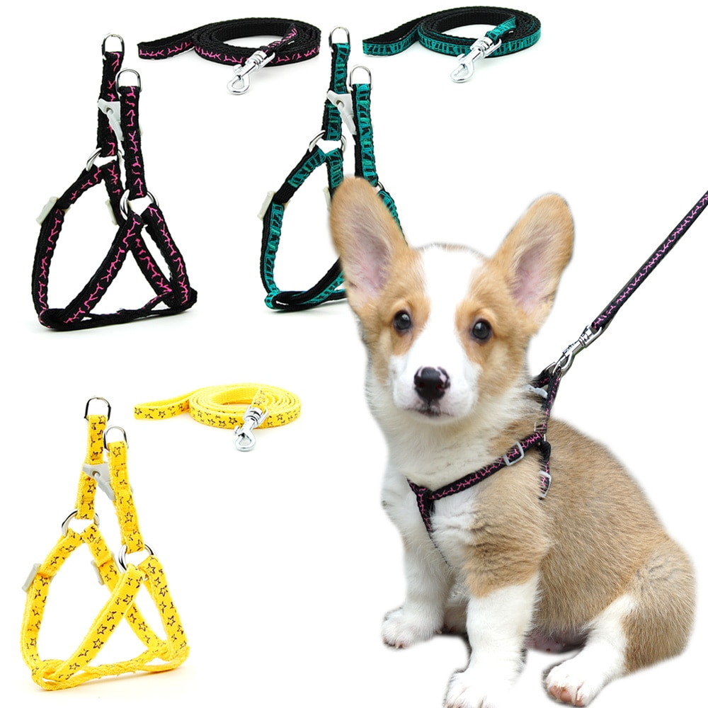 kitten harness pet leash cat harness outdoor walk for small cat puppy chihuahua pet harness leash cat products 2 pieces/lot Dog Cat Harness Leash Plaid Harness Vest Leash Collar Puppy Small Dog Pet Outdoor Walking Chihuahua Terier