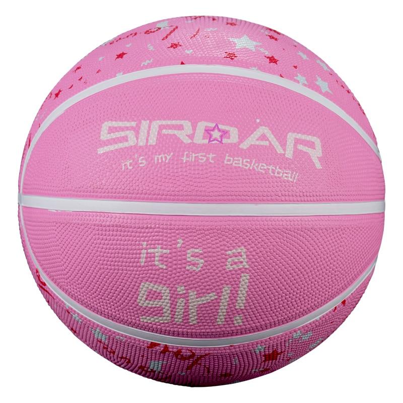 SIRDAR резиновые ламинированные баскетбольные мячи для студентов, профессиональная тренировка баскетбола, Размер 7, розовый бренд, дешево, опт...
