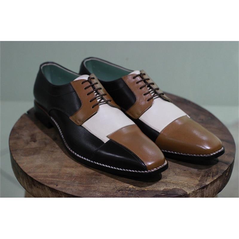2021 جديد حذاء رجالي موضة فستان عمل غير رسمي اليدوية أبيض وأسود براون بولي Color اللون مطابقة الدانتيل متابعة أكسفورد أحذية 6KF450
