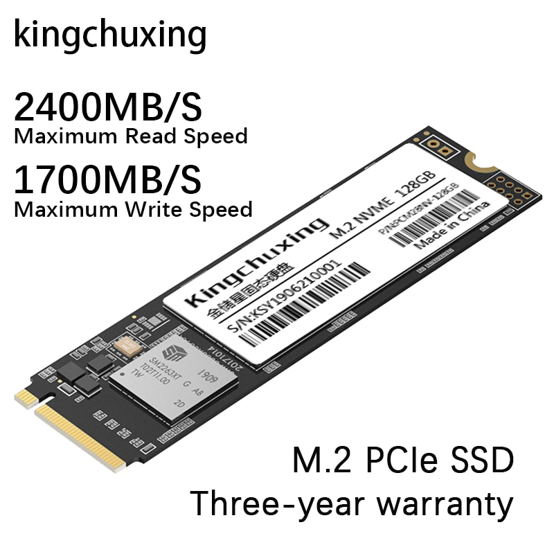 M2 SSD M.2 NVME PCIe x 4 Интерфейс ТБ 1т 512 ГБ 256 ГБ 128 ГБ Внутренний твердотельный накопитель Жесткий диск HDD ноутбук Kingchuxing