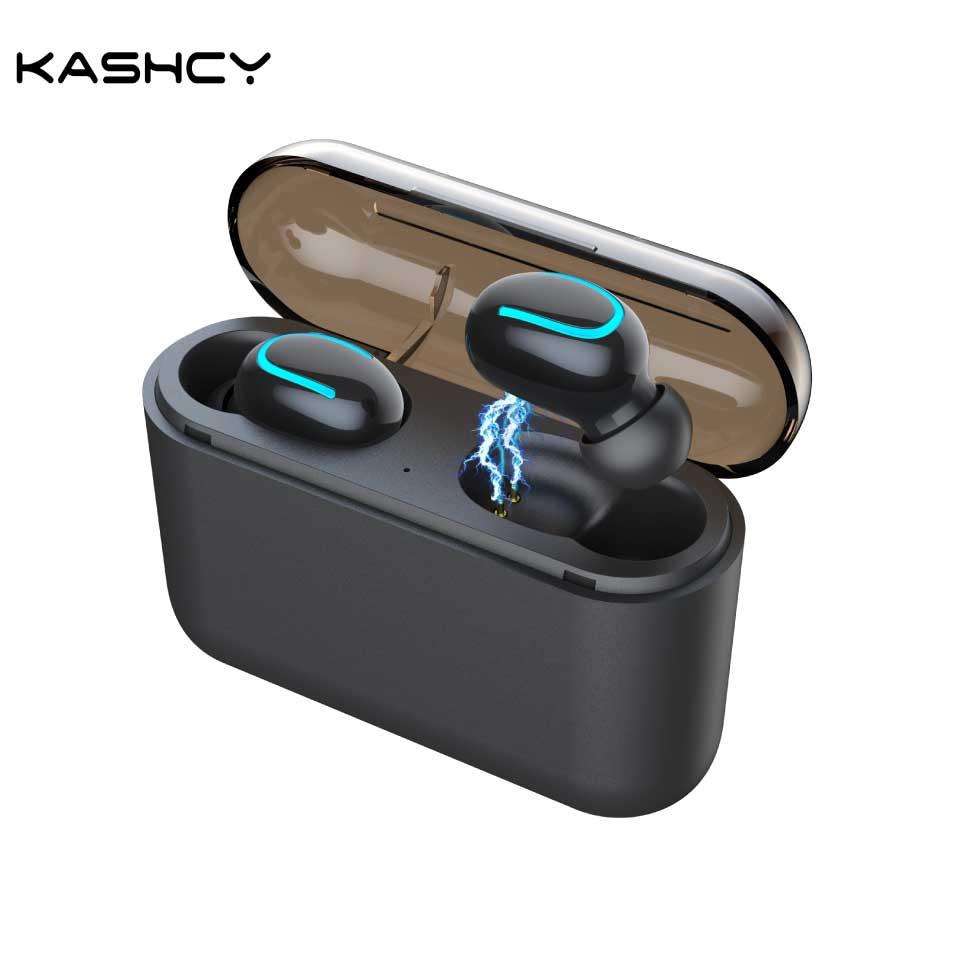 Q32 hbq tws fones de ouvido sem fio bluetooth 5.0 estéreo airdots esportes à prova dheadset água com microfone caixa carregamento portátil 1500nah