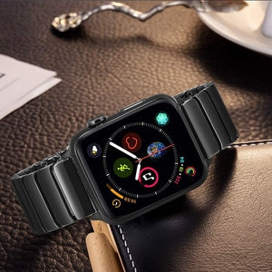 Band For Apple Watch Strap Series 6/SE/5/4/3/2/1 38mm 42mm 40mm 44mm Ceramics iwatch Series 4/3/2/1 Wristband Link Bracelet