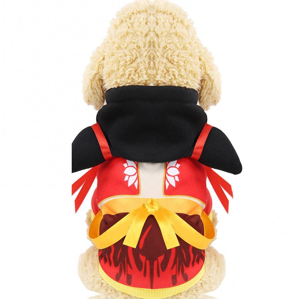 Autumn Winter  Skin-friendly And Soft Little Tiger Cartoon Animal Transformation Polyester Costume Cat Dog Clothes Pet Hoodie