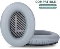 qc35 replacement ear pads for bose quiet comfort 35 headphonescompatible with quiet comfort 35 ii cover grey