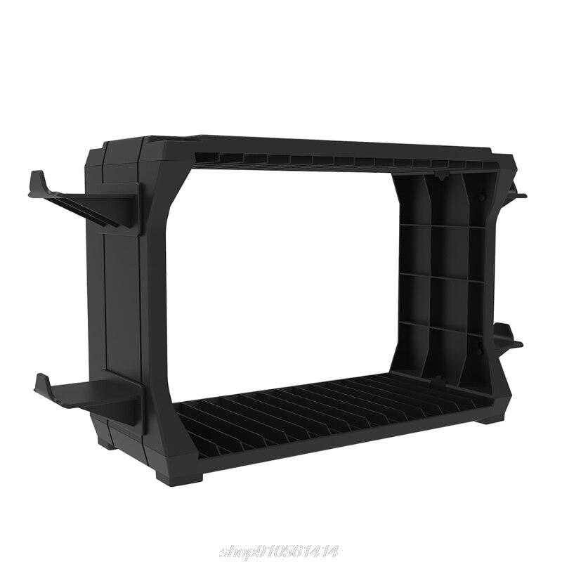 For Switch PS5 / PS4 / -XBOX S/X Series Disc Cuffie Rack di Archiviazione Supporto di Gioco Multifunzione Per J28 21 Dropship