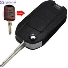 jingyuqin Modified 2/3 B Remote Case Car Key Shell Fob For Vauxhall Opel Corsa C Combo Tigra Meriva Agila