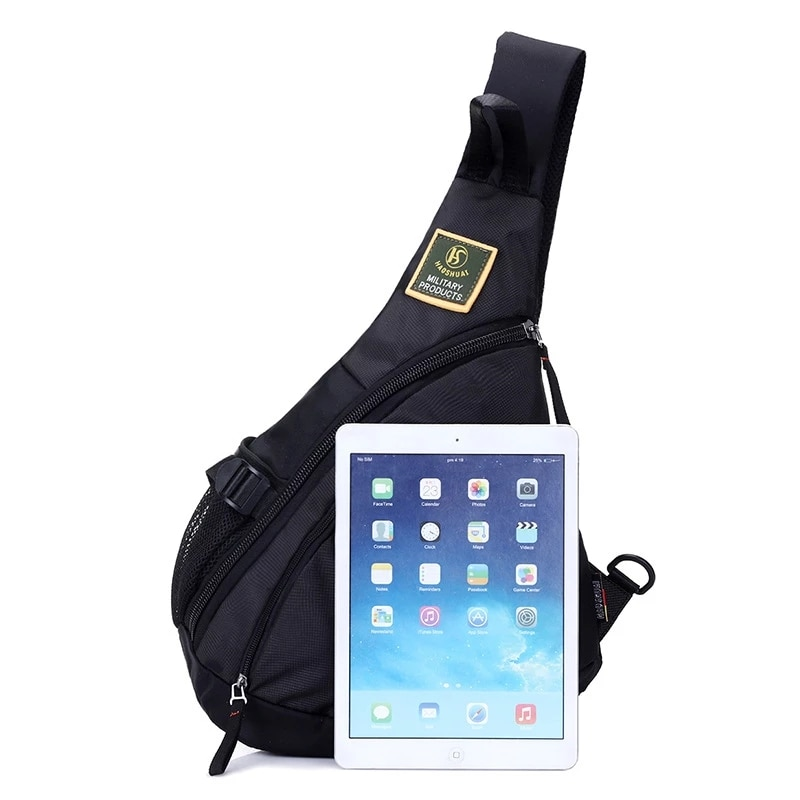 Waterproof Nylon Single Chest Bags For Men Fashion New Crossbody Bags Travel Unisex Messenger Bag iPad Pockets Male Chest Packs  - buy with discount