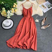 Богемные сексуальные платья, женские летние праздничные Длинные платья без рукавов, Пляжное платье макси, женское платье белого, красного, ...