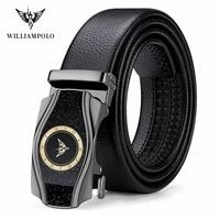 williampolo mens belt high quality genuine leather belt luxury new designer belts men cowskin fashion strap male jeans for man
