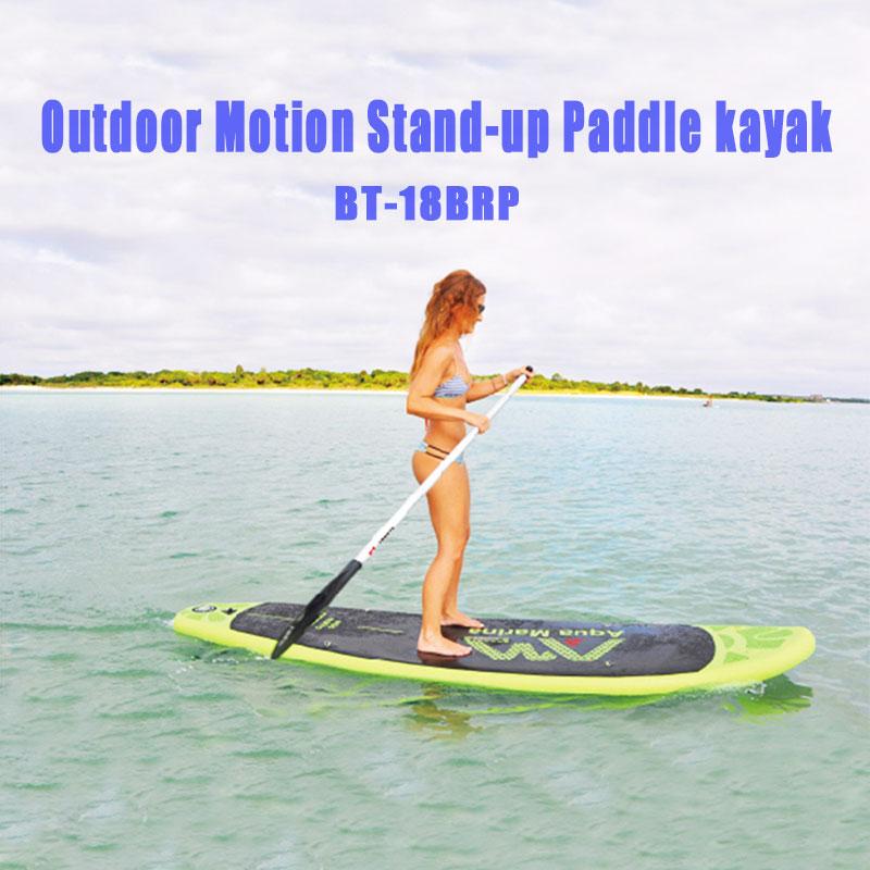 "2019 Aqua Marina Breezy 99 ""BT-18BRP tabla inflable de surf de pie kayak con remo barco de pesca inflable"