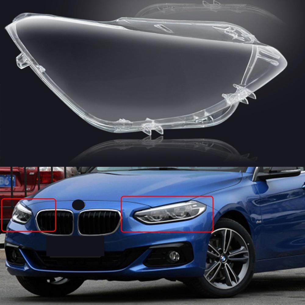 Front Car Protective Headlight Glass Lens Cover Shade Shell Auto Transparent Light Housing Lamp For BMW F20 E87 118i120i  08-21