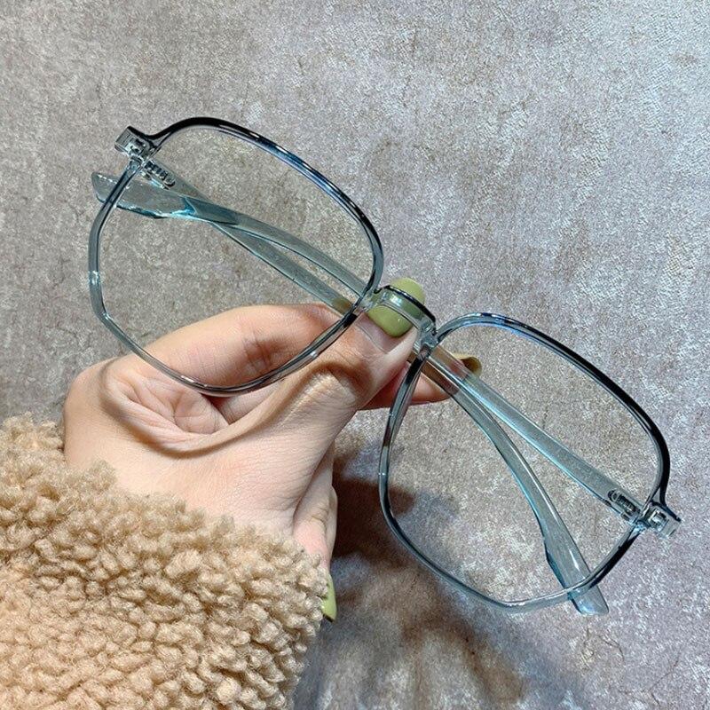 Women's Blue Light Blocking Computer Glasses Women Men Female Anti Blue Rays Eyeglasses Frame Retro