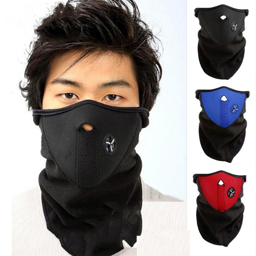 Motorcycle Warm Neck Warm Unisex Windproof Outdoor Sports Ski Cycling Snowboard Bike Riding Mask Scarf Accessories ski mask