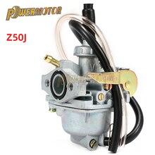 Pièces de rechange de moto   Carburateur, 14mm, pour Honda Mini Trail K3 K2 K1 K0 Z50 Z50A Z50R moto Dirt Bike, accessoires