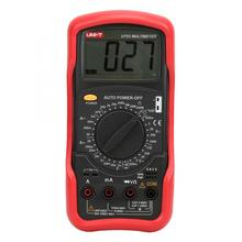 UNI-T UT53 цифровой мультиметр AC DC Вольтметр Амперметр емкость Омметр диод/транзистор температурный тест