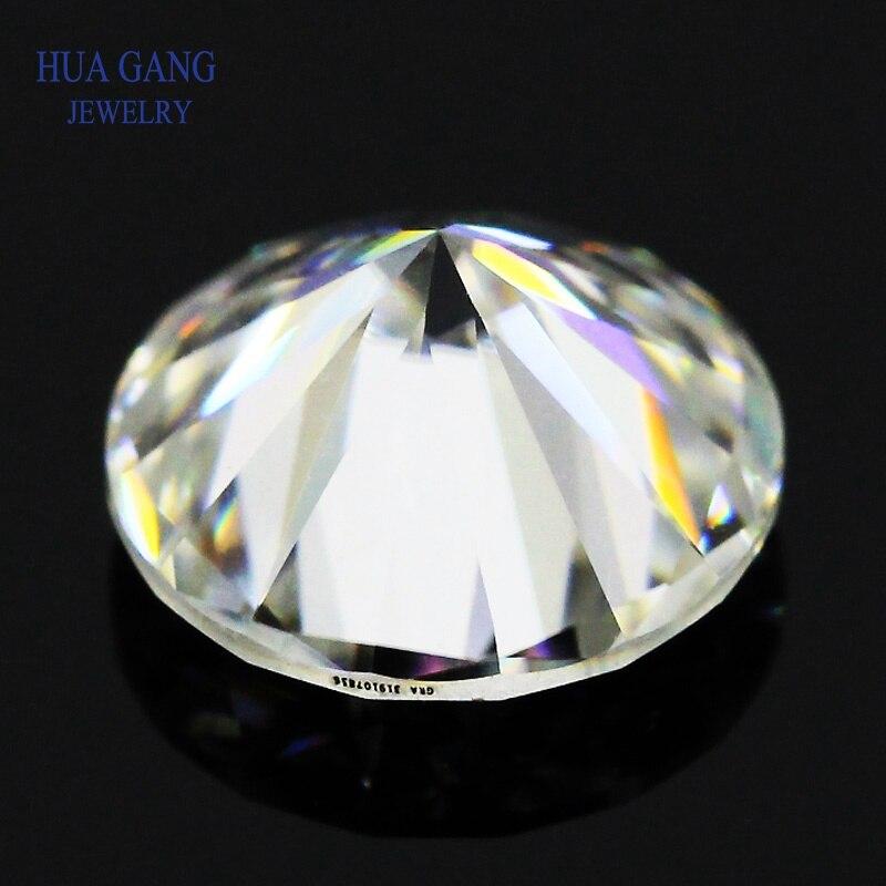 EF Color Loose Moissanite Round Brilliant Cut 14mm-10ct VVS1 Ring Bracelet Jewelry DIY Material Lab Diamonds Moissanite Stone