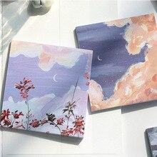 90 pièces mignon esthétique rétro Vintage peinture à lhuile série Mini affiche déco autocollants fleurs bricolage Scrapbooking Journal Journal autocollant