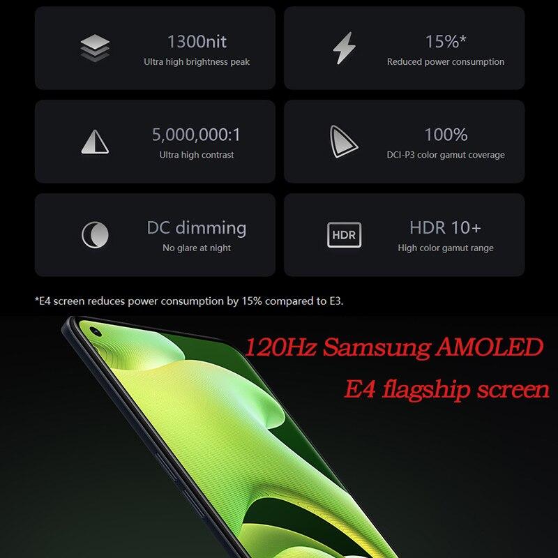 realme GT neo 2 5G smartphone Snapdragon 870 5000mAh 65W flash changer google play NFC AMOLED 120HZ 8GB RAM 256GB ROM Cellphone enlarge