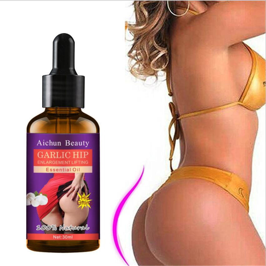 Garlic Rich buttocks  essence oil Effective Hip Lift Up Butt Lift Bigger Buttock Serum Buttocks Enlargement Care Free shipping