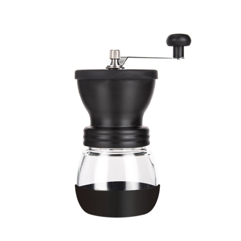 سلع منزلية متنوعة جميلة دائم المنتجات المنزلية مطحنة القهوة مطحنة حبوب القهوة الصغير الزجاج المواد المنزلية