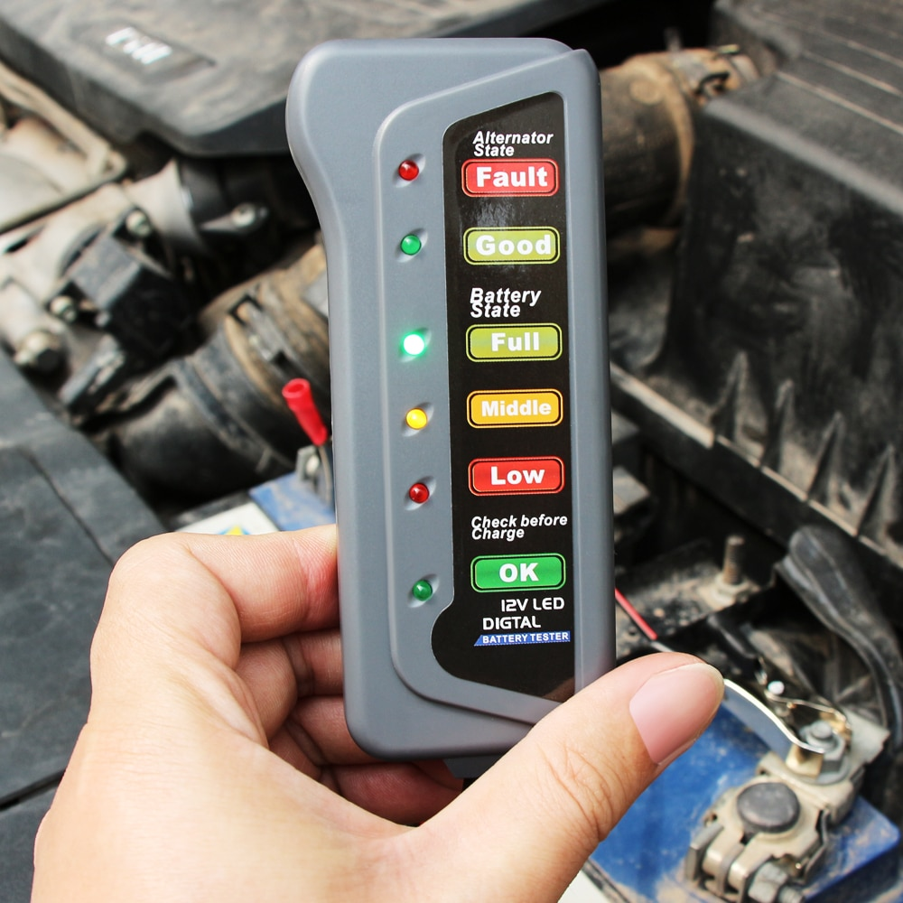 Car Diagnostic Tool Auto Battery Tester for Alfa Romeo alfa romeo 159 147 giulietta saab 9-3 saab 9-5 saab 9000