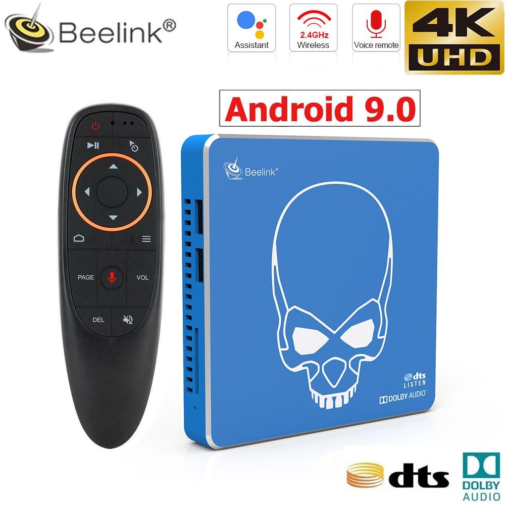 Beelink جي تي كينج برو الروبوت 9.0 الملكية الفكرية التلفزيون مربع
